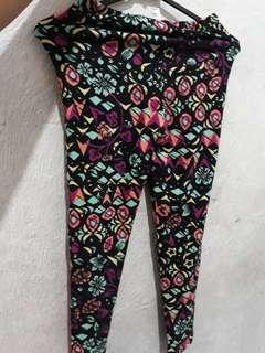 legging anak perempuan size S/M