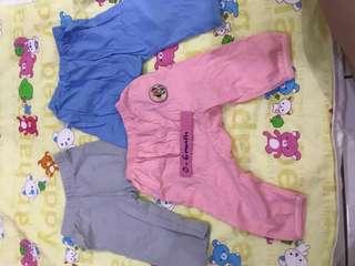 Baby pants 3 pcs