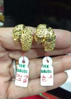 18k Pure Saudi Gold(350 per grms)