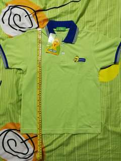 New Sesame Street Big Bird Collared Shirt