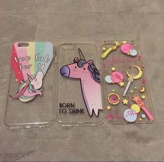 Bnew Iphone6 6s Soft Cellphone Case Set