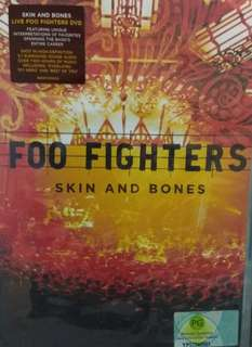 arthdvd FOO FIGHTERS Skin and Bones Live DVD