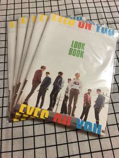 GOT7 EYE ON YOU 預售 Look Book