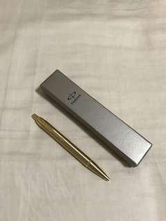 Parker Pen - Ballpoint (Brush Gold)