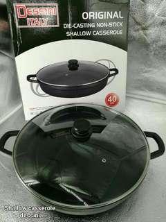 SHALLOW CASSEROLE DESSINI