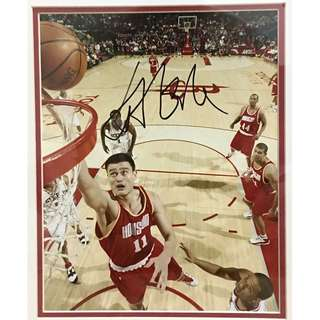 Yao Ming 姚明 Authenticated Memorabilia