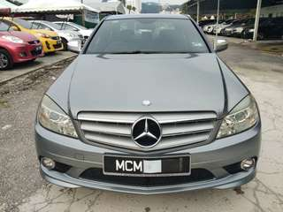 SAMBUNG BAYAR/CONTINUE LOAN  MERCEDES BENZ C180 AMG SPORT YEAR 2008/2012 MONTHLY RM 1820 BALANCE 3 YEARS + ROADTAX OCT 2018 UK SPEC PADDLE SHIFT TIPTOP CONDITION  DP KLIK wasap.my/60133524312/c180