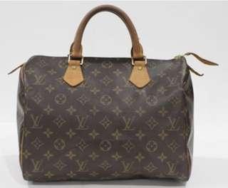 Preloved LV Bag Speedy 30