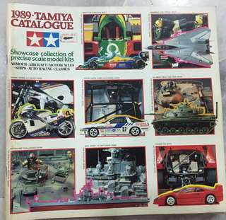 TAMIYA Catalogue 80&90's