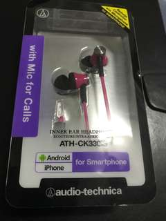 Audio-tech ATH-CK330iS (Pink)