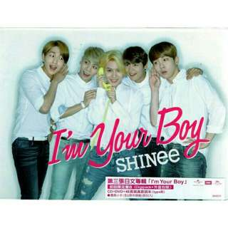 🚚 SHINee專輯 I'm your Boy初回B版
