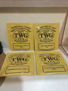 TWG tea bag  4 flavour