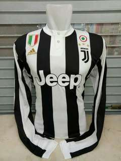 JERSEY JUVENTUS HOME LONG SLEEVE 2017 / 2018 GRADE ORI