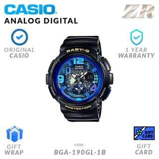 CASIO BABY-G ORIGINAL BGA-190GL-1B Analog Digital Watch - 1 Year Warranty