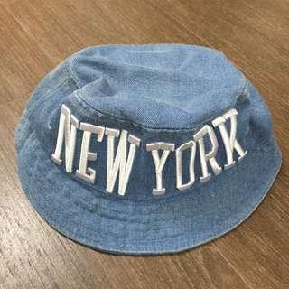 牛仔布漁夫帽