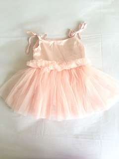 Pink tulle dress baby