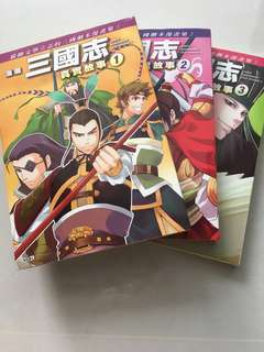 三国志 Romance of Three Kingdoms comic books KOEI