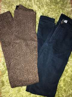 H&M high waisted Jeans/Pants