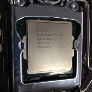 Intel CORE i7-4770 3.40GHZ Processor chip