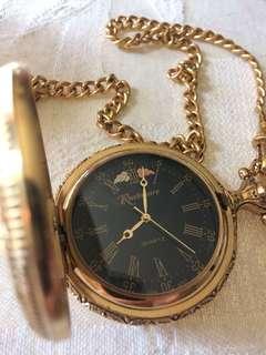 Rushmore Gold Pocket Watch