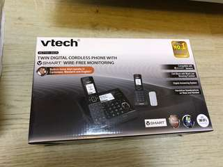 Bye hi twin digital cordless phone Smart 數碼室內無缐電話 子母機