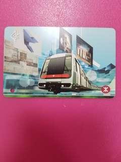 MTR地鐵車票