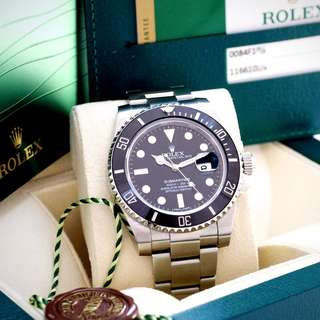 Rolex Submariner Black Ceramic Date – 116610LN
