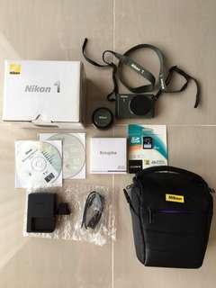 Nikon 1 S1 Camera - Khaki