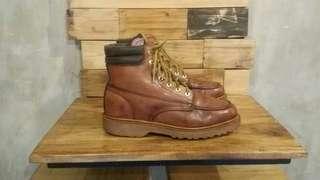 Dickies Ranger Leather Boots Shoes Second Sepatu Bekas Branded Import