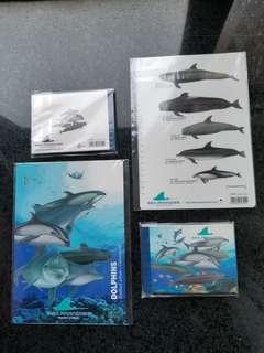 日本 Yokohama hakkeijima 八景島 海豚 dolphin 精品 文具 made in japan
