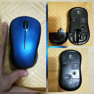 🚚 Logitech M310 Wireless Mouse  (BLUE)