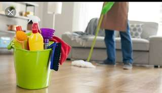 Weekly house cleaning services