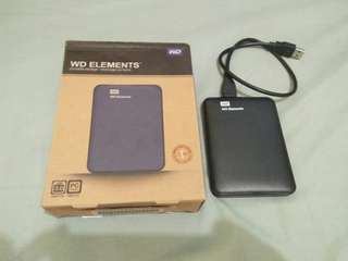 WD Elements 250GB Portable Storage