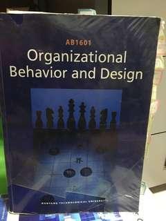 AB1601 Organisational Behavioural and Design OB NTU NBS