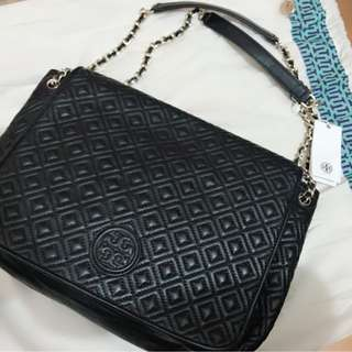 [全新] tory burch marion quilted shoulder bag