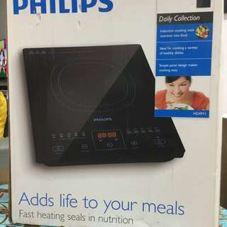 Philips induction cooker with free gift soup pot