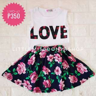 Imported floral dress