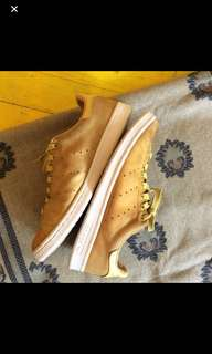 Adidas Stan Smith Suede Yellow (Authentic)
