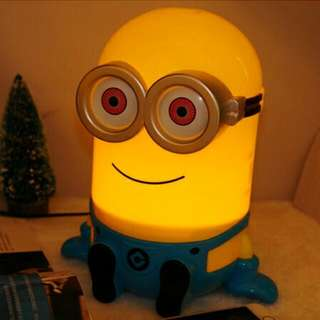 Minions Lamp + Coinbank 2 in 1