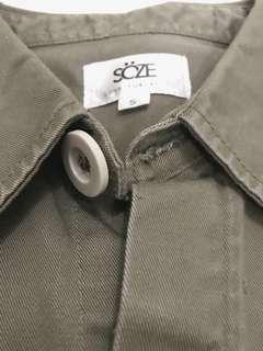 Soze - Anticlockwise Pocket Jacket Olive