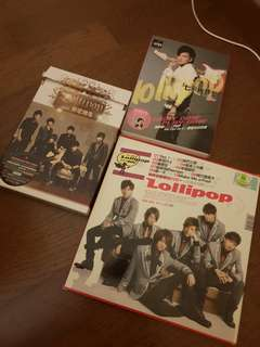 【CLEARANCE】Lollipop棒棒堂 unsealed albums