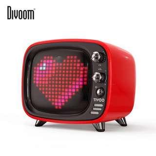 Tivoo Divoom Bluetooth Speaker