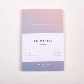 A5 gradient notebook (vol 2, purple & pink)
