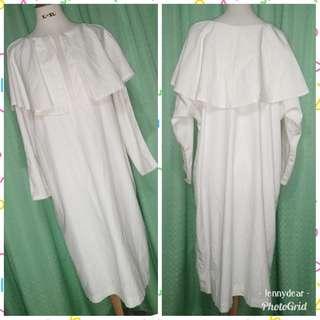 Formal White Dress Plus size