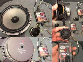 FOCAL POLYGLASS (165V1)component full set