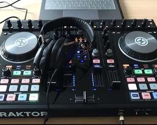 Fastdeal! Traktor S4 MK2 DJ Soundcard with Jogwheels