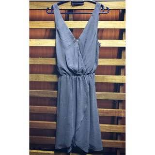 [017] H&M Blue Sleeveless Dress