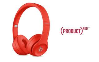 Red edition Beats Solo3 Wireless Headphone