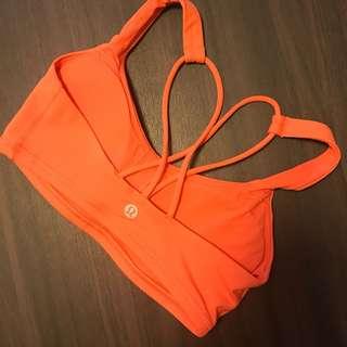 Lululemon sport / yoga bra (size 2)