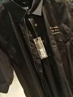 Izzue x JP Gautier Men's Zipper Foil Shirt